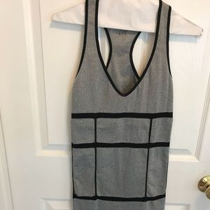 XS/S Black and gray mini dress